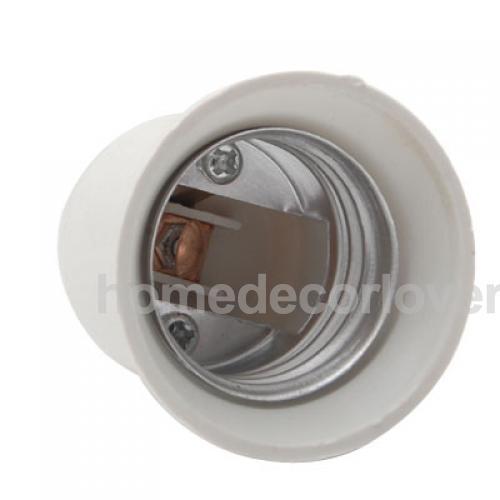 E12 To E27 Candelabra Ceiling Fan Light Socket Holder