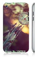 Mobile Phone Case Retail 1pc Dream Catcher Design Protective White Hard Case Cover For Ipod Touch 4 4th Free Shipping