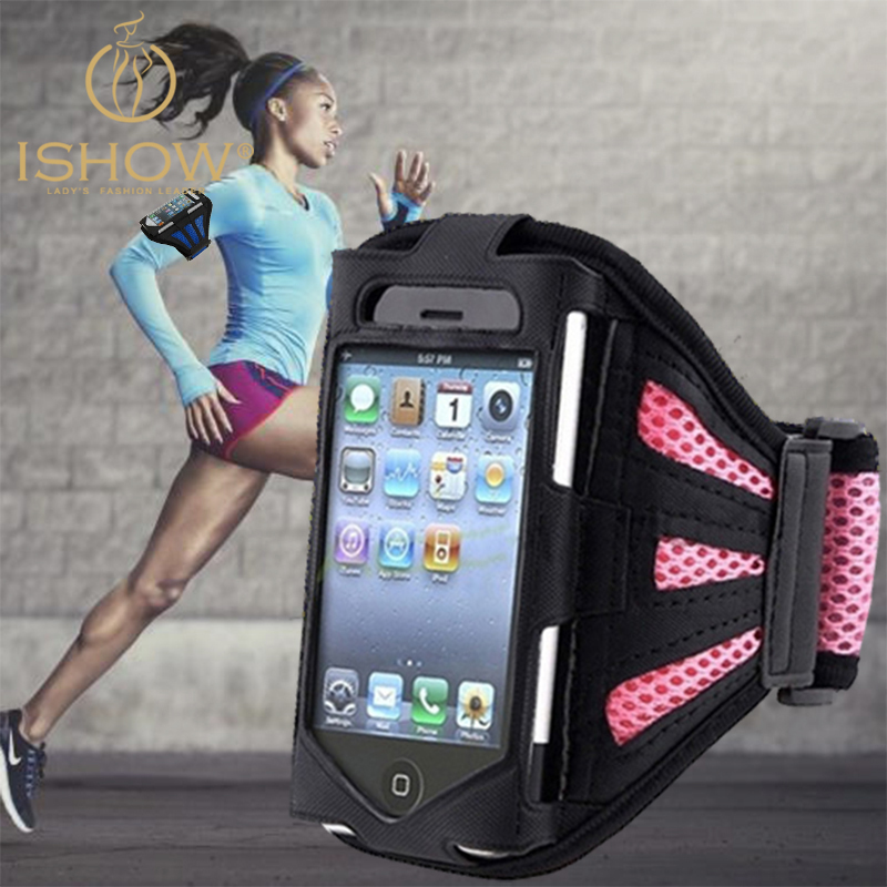 Arm Band Phone Case iPhone 4 5 5S Running SPORT GYM Bag Jogging Protective Mobile Brassard - I SHOW Ali Store NO. 57 store