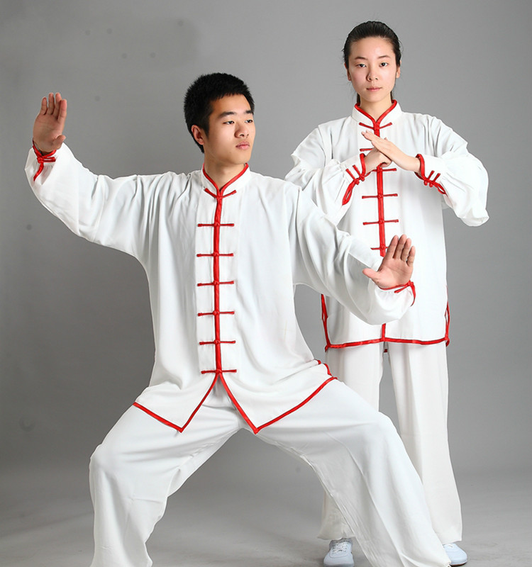 Cotton +rayon Adult Kungfu Uniform Men Chinese Traditional Tai Chi Suit Martial Arts Clothing Wushu Clothes Stage 89