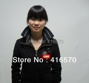 free shipping programable and rechargeable 12*48 scrolling led name badge