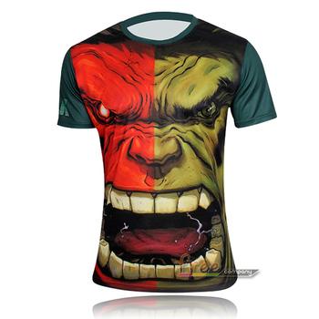 Marvel Comics Super Heroes Spiderman Superman Captain America Batman Iron Man Hulk Transformers T Shirt Costume Riding T-shirt