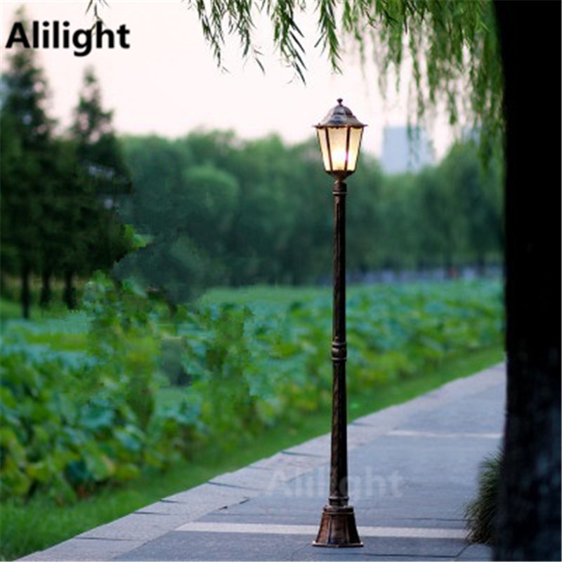 Popular column outdoor lights buy cheap column outdoor for Fixture exterieur