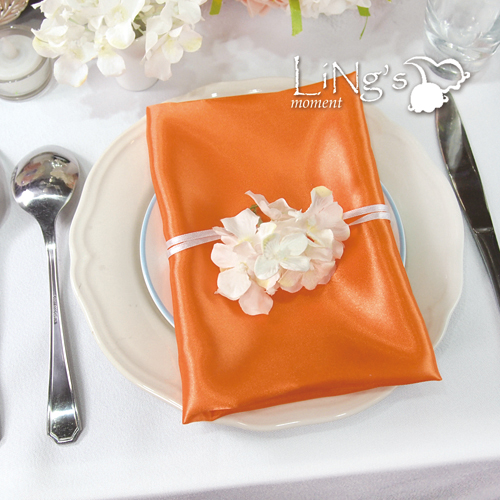 Free Shipping Wedding 50 pieces Satin Napkin 30 30CM Square Handkerchief Handy Napkin Towel Satin Cloth
