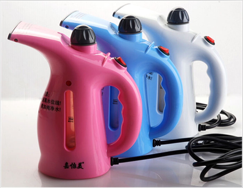20pcs/lot free shipping GARMENT mini STEAMER portable steam cleaner for clothes/cheap steam cleaner portable mini steamer(China (Mainland))