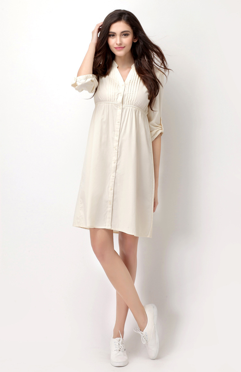 Solid Color Brand Desigual Summer Ladies Dress Shirt Elegant Plus Size Loose Women's Sexy Bodysuit Dresses S~XXXL(China (Mainland))