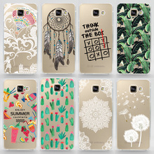 TPU Soft Case For Samsung Galaxy A3 2016 A310 A3 2015 A300 Transparent Ultra-Thin Silicone Phone Cover For Samsung A3(2016)