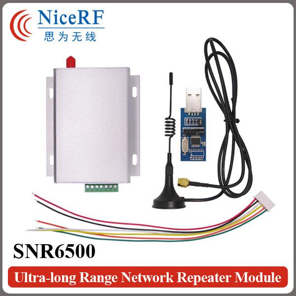 SNR6500 5W Wireless Transceiver kit (470MHz RS485 SNR6500 Module+2pcs Antenna+2pcs Power supply+2pcs USB Brigde board)(China (Mainland))