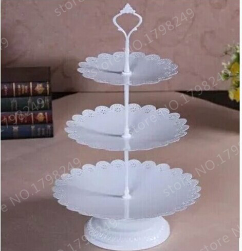 three tier lace round cake stand wedding cake stand in other holiday