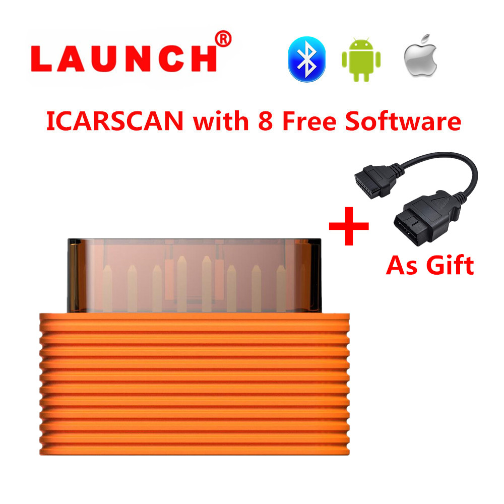 2017 New ICARSCAN Super LAUNCH X431 IDIAG Android/IOS Full System 8 Car Diagnostic Software Function LAUNCH X431 V