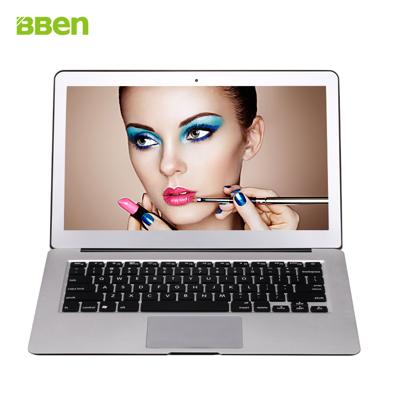 13.3 inch laptop windows 10 metal ultrabook notebook computer in-tel core I5-5200u 4GB 128GB SSD Bluetooth WIFI Russian Spanish(China (Mainland))