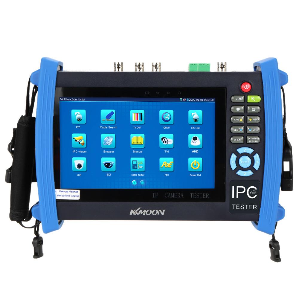 "7"" IP CCTV Tester Monitor AHD+CVI+TVI+SD+analog Cameras Tester POE/WIFI/FTP Server/IP Scan/Port Flashing/DHCP Testing(China (Mainland))"