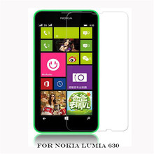 For Nokia 630 HQ 2.5D 0.26mm Ultra Thin Tempered glass film for Microsoft lumia 630 LCD screen protective Protectors