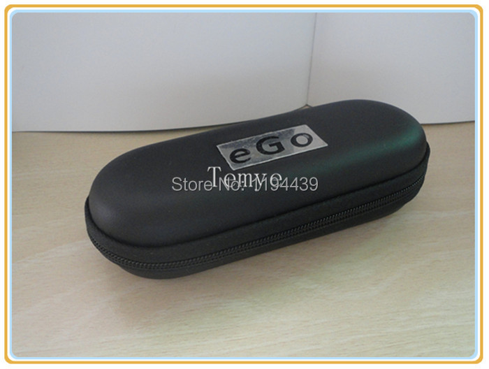 eGo Carry Zipper Case Leather Bag for Electronic Cigarette Starter Kit EGO series Small Size(China (Mainland))