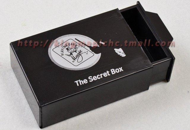 Double Magic Box/The Secret Box/magic toys/as seen on tv/ 2pcs/lot Free Shipping magic trick