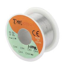 Buy Welding Iron Wire Reel 50g FLUX 1.8% 1mm 63/37 Tin Lead Line Rosin Core Flux Solder Soldering Wire Roll for $2.85 in AliExpress store
