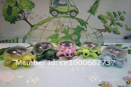 Wholesale Mini Solar Tortoise+Solar Turtle+Educational Toy+Novelty Kits+Solar Powered Mini Turtle(Tortoise) Free Shipping(China (Mainland))