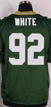 Men's jersey 12 Aaron Rodgers jersey 27 Eddie Lacy jersey 87 Jordy Nelson 4 Brett Favre 52 Clay Matthews jersey blue white green(China (Mainland))