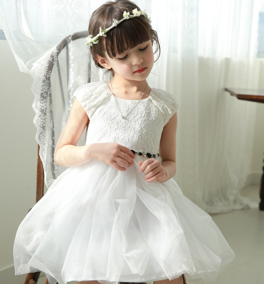 New 2015 fashion baby girls dresses kids clothes toddler princess sofia tutu frocks children's wear for new years wedding party(China (Mainland))