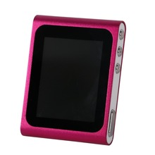 6th Generation Mp3 Mp4 Music Media Player FM Games Movie 1.8″LCD Screen  Free Shipping