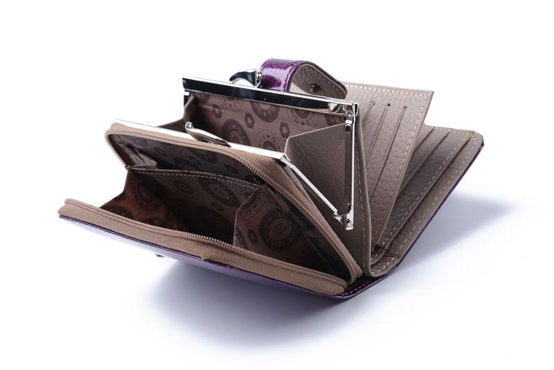 HTB1rxRGQVXXXXXyXFXXq6xXFXXX4 - Fashion Real Patent Leather Women Short Wallets Small Wallet Coin Pocket Credit Card Wallet Female Purses Money Clip Gold color