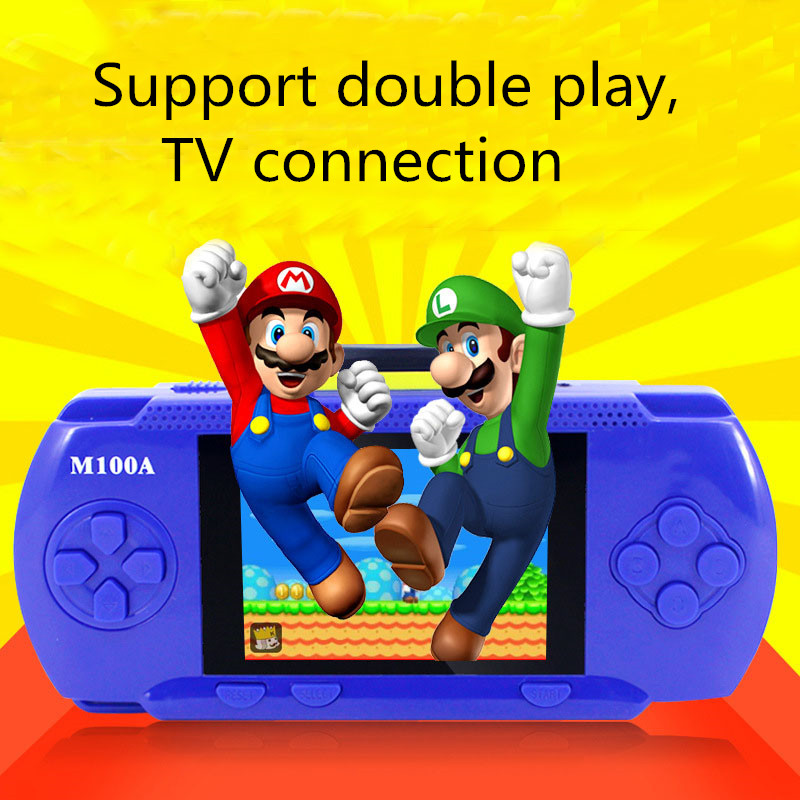 New Arrived Support Double Play TV Connection Ultra-Thin 328 Kinds of Games Built In Memory Video Game Console(China (Mainland))