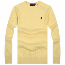 100% Cotton Small Horse Brand Sweater Men POLO Sweater  Mens Sweaters O-Neck Jumpers Pullover Men Sweater Jerseys 8 color(China (Mainland))
