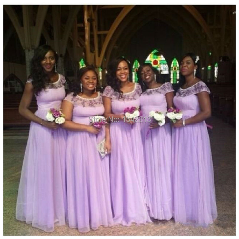 Compare Prices on Purple Long Lace Bridesmaid Dresses Formal Gown ...