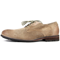 2016 men nubuck leather vintage flat shoes male causal working shoe high quality leather comfortable footwear