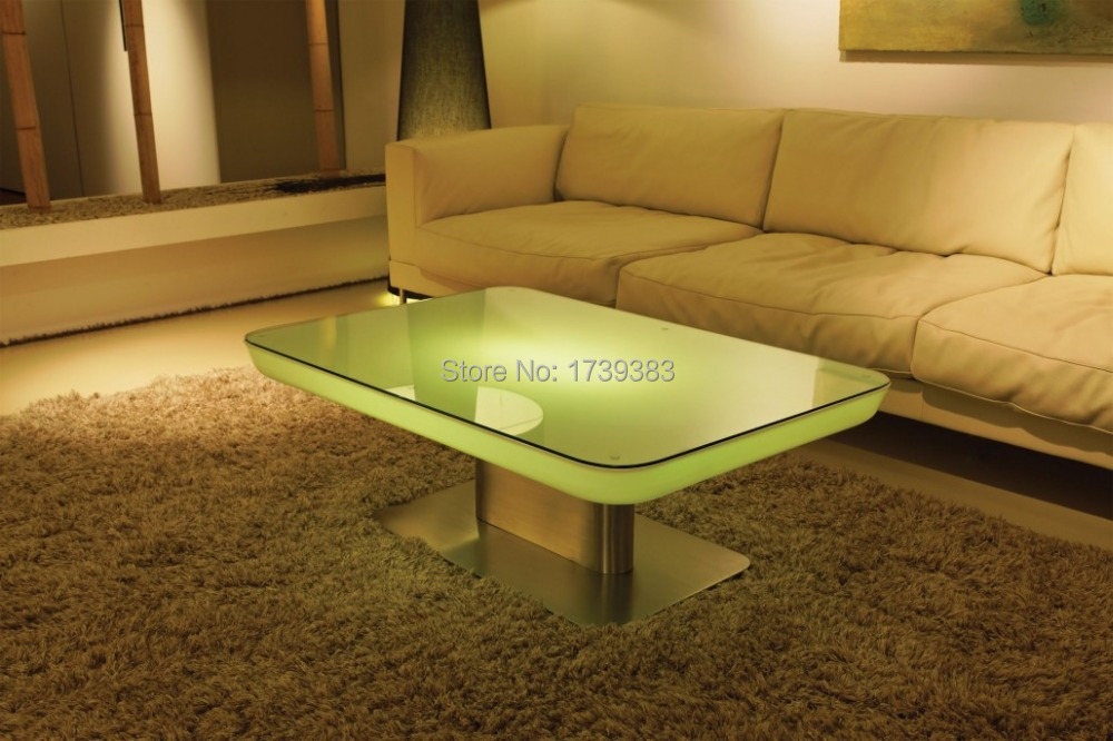 H56 Led Illuminated Furniture Dining table for 4 people,STUDIO LED,led coffee table for bar,meeting room,living room or events(China (Mainland))