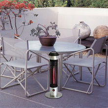 Height65cm Portable Infrarood heater Tip-over Outdoor Electric Patio Heater Stainless steel base Infrared Halogen heaters(China (Mainland))
