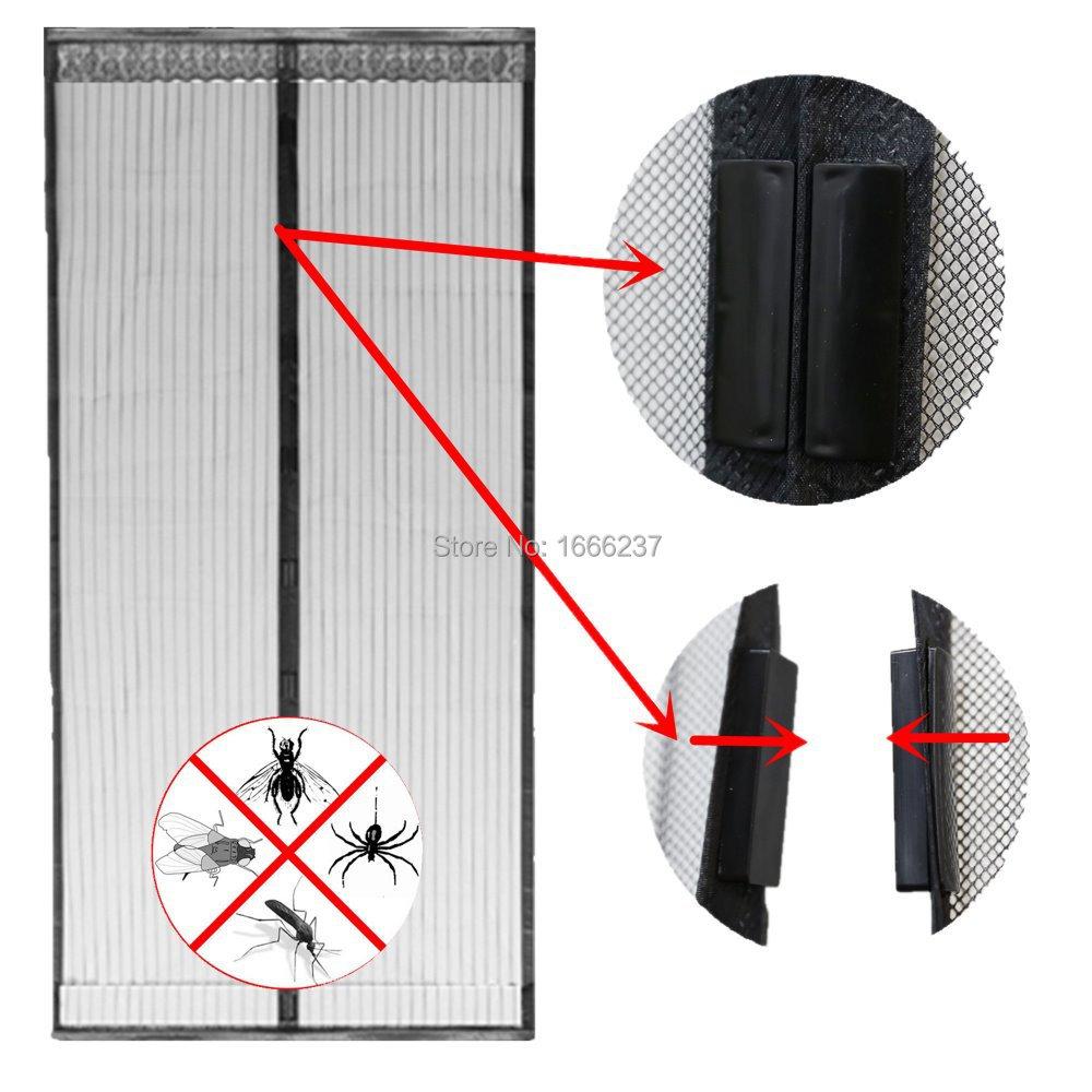 Acheter taille 100 210 cm moustiquaire for Taille rideau fenetre