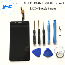 CUBOT X17 LCD+Touch Screen Original Display Digitizer Glass Panel Assembly For CUBOT X17 1920×1080 FHD 5.0inch – Free Shipping