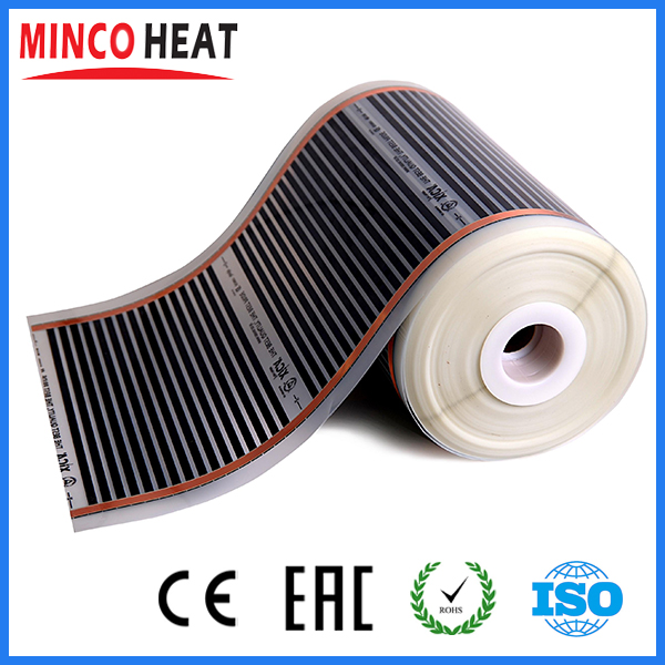 Infrared floor heating electric infrared film temperature low electrical carbon heating film warm floor mat<br><br>Aliexpress