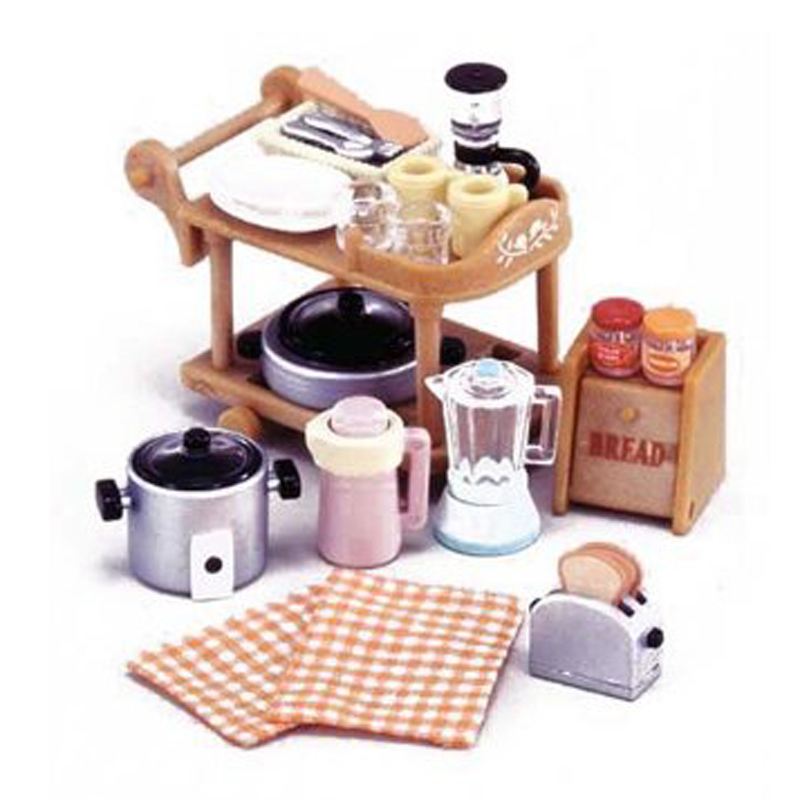 Mini Keuken Speelgoed : Sylvanian Families Kitchen Cooking Set