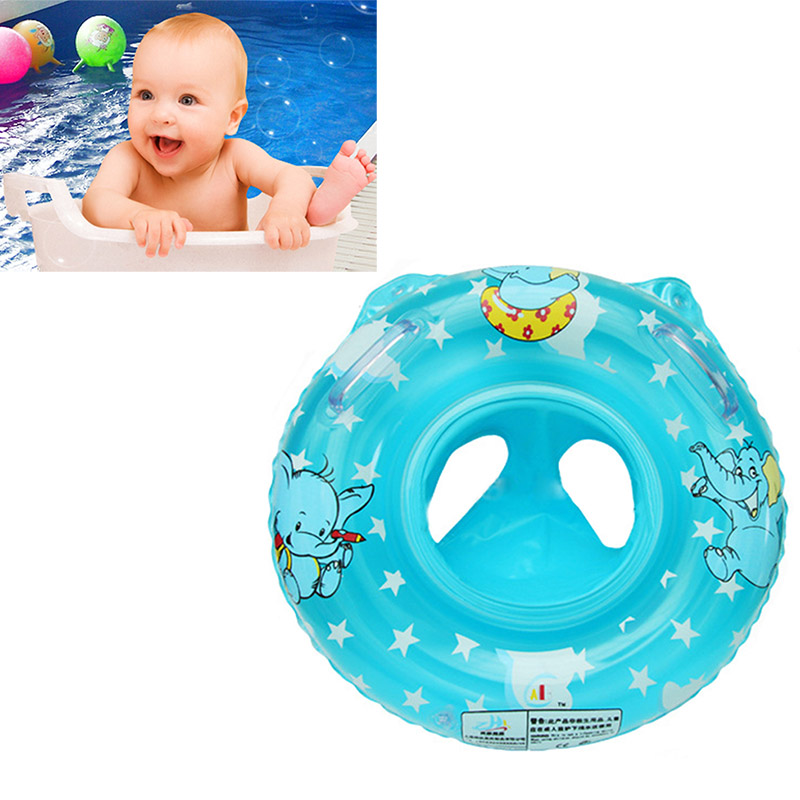 Summer Kid Swimming Ring Seat Baby Pool Inflatable Toy Circle Ring Seat Float Water Swim Ring Swimming Pool Accessories LMY01056(China (Mainland))