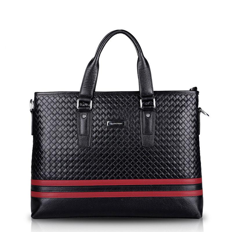 Men Laptop Bags Genuine Leather Men Messenger Bag Briefcase Famous Designer Brand Shoulder Bags Business Handbags RD-2004<br><br>Aliexpress