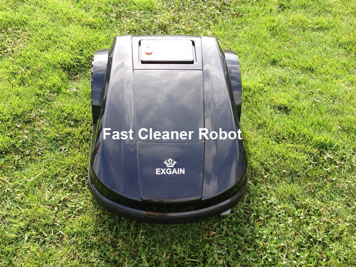 Newest Automatic Robot Lawn Mower S520 with Updated Smartphone APP Control, Water-Proofed charger,Range,Subarea function CE&ROHS