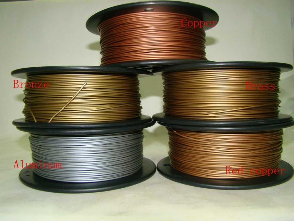3D printer filament metal material 1 75mm