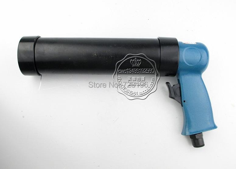 Free Shipping 300ml Alloy Pneumatic Caulking Gun Air Power Caulk Gun