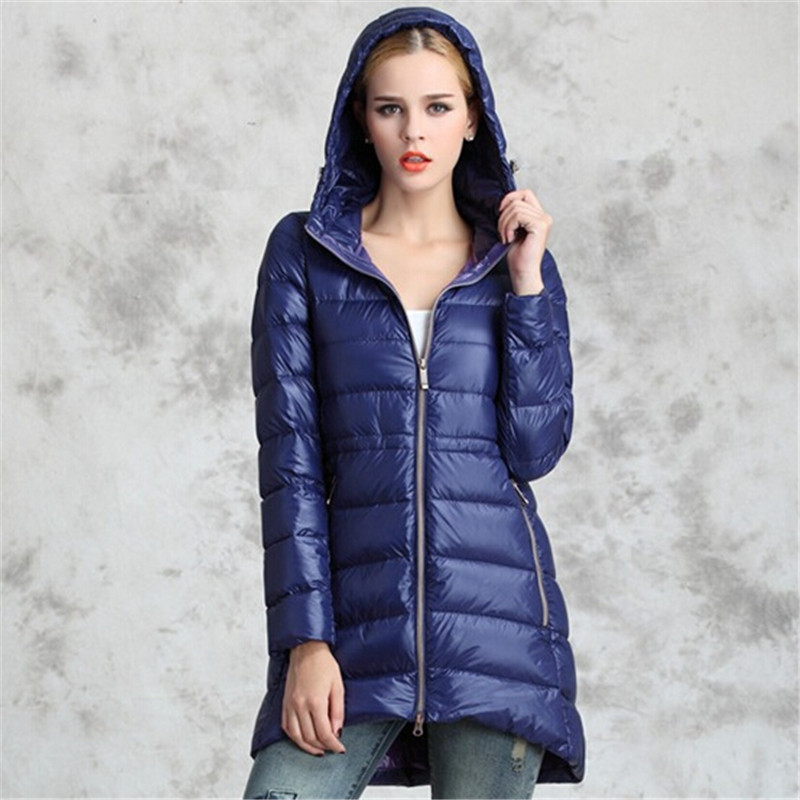 European Style Winter Jacket Women Long Outwear Women's Clothing Hoodies Down Wadded Quilted Jackets For Women Plus Size C1450(China (Mainland))