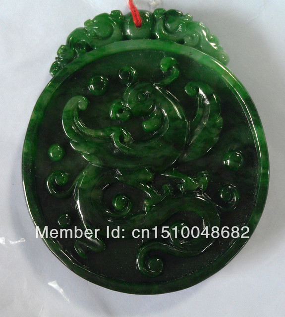 ERON Green Jade Dragon Pendant pendant male exquisite high-end business gifts