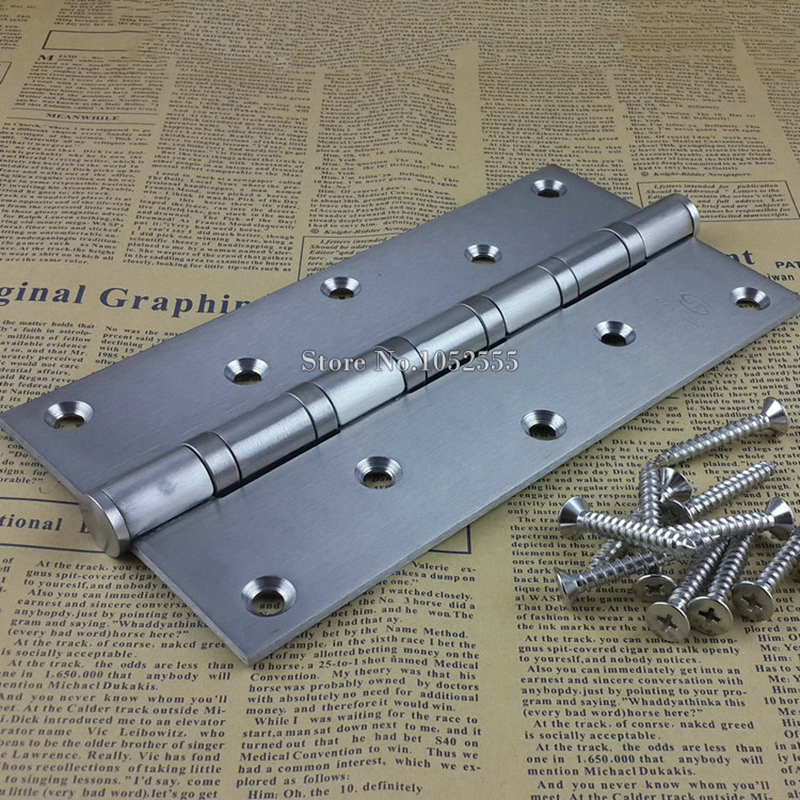 """NEW 8"""" Thick Stainless Steel Wooden Door Hinge Heavy Duty Hinges Mute Door Project Auxiliar Hardware Furniture Accessory E152(China (Mainland))"""