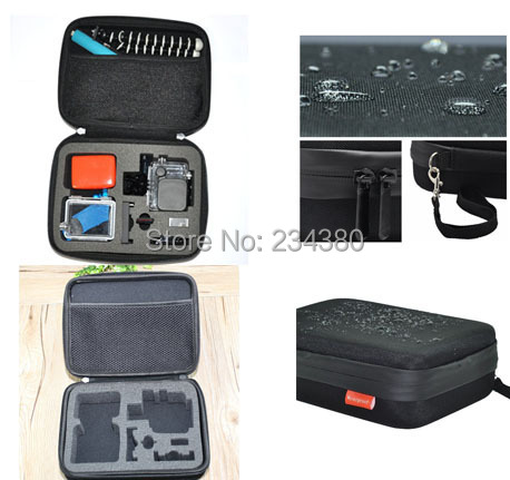 GoPro Bag Waterproof Camera Case Bag Middle size collection box for GoPro Bag Hero 3+/3/2/1 Gopro Case(China (Mainland))