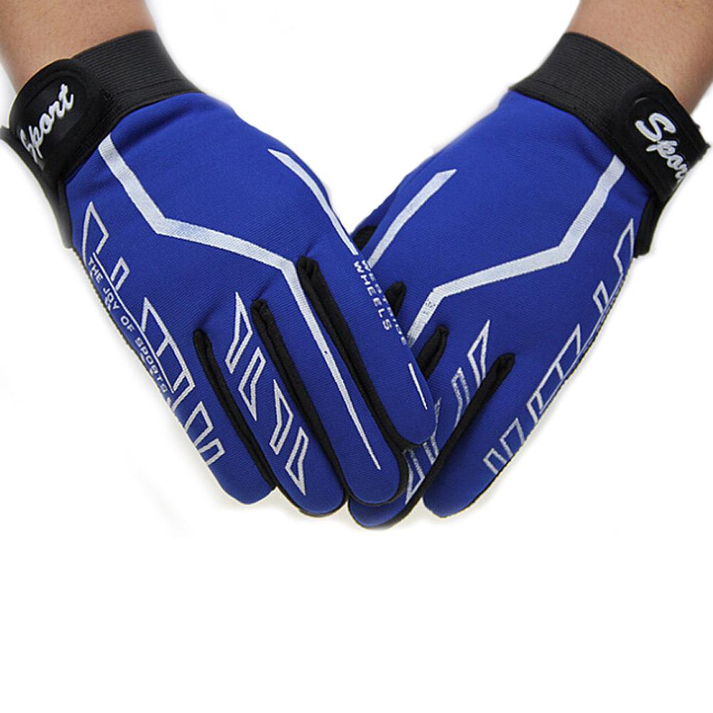 Fashion Mens Full Finger Sport Gloves Exercise Gym & Yoga Gloves Black Training Gloves Free Shipping