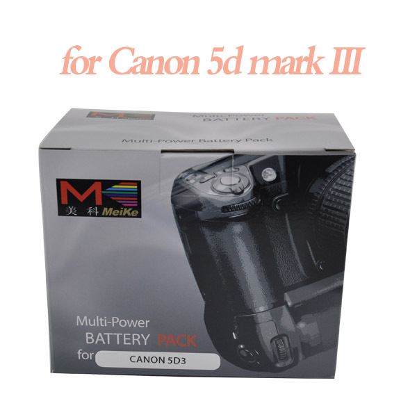 MeiKe MK-5D3 5d3 battery grip, BG-E11 BGE11 Battery Holder Grip for Canon 5D Mark III as LP-E6 LPE6