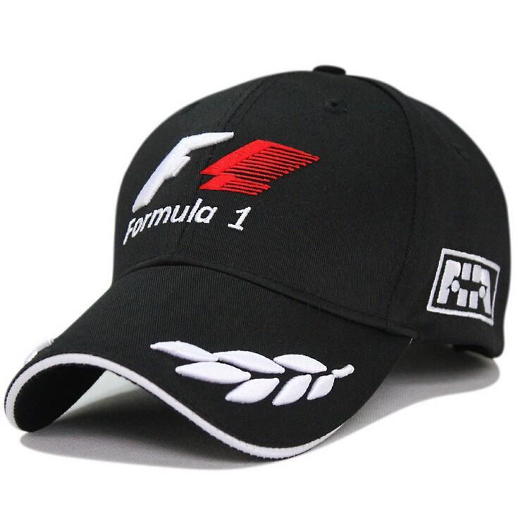 2014 Outdoor Men World Champinship Formula 1 Racing Cap Sports Male Baseball Cap Car Motorcycling Visors Sun Hat Black Freeship(China (Mainland))