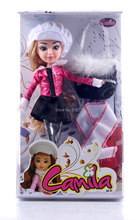4 Pieces/lot Christmas Gift Toys for Children Fashion Doll Set with Accessory Action Figure with box Princess Doll for Girls