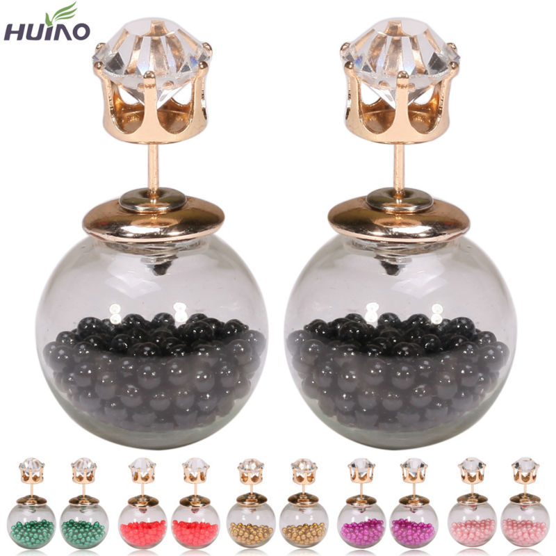 Earrings For Women Real Rushed Min 1pair 12colors ...