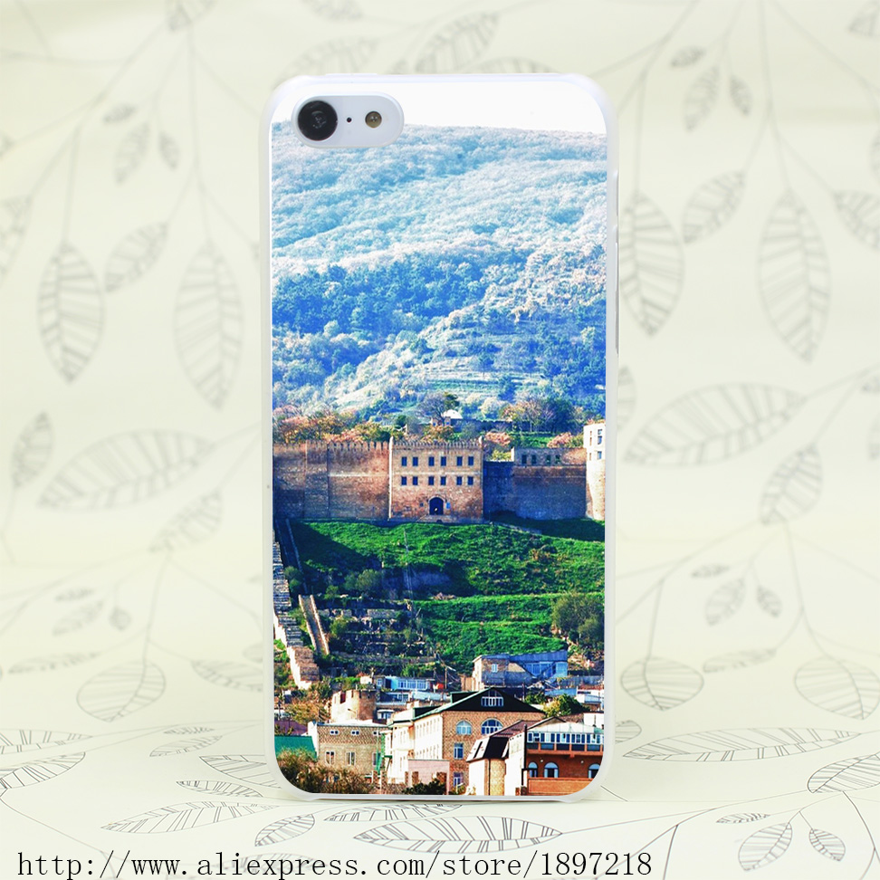 4897T Western Ancient Architecture Hard Transparent Cover Case for iphone 4 4s 5 5s 5C SE 6 6s Clear Cell Phone Cases(China (Mainland))